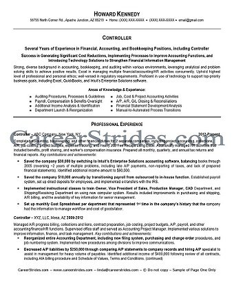 Click me to see finance resume service samples