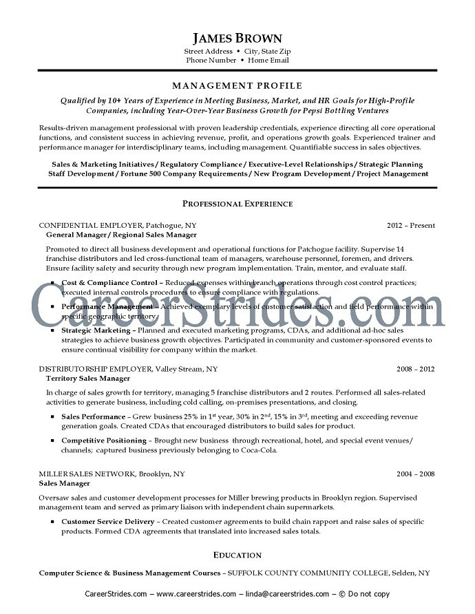 General Resume Templates General Resume Samples